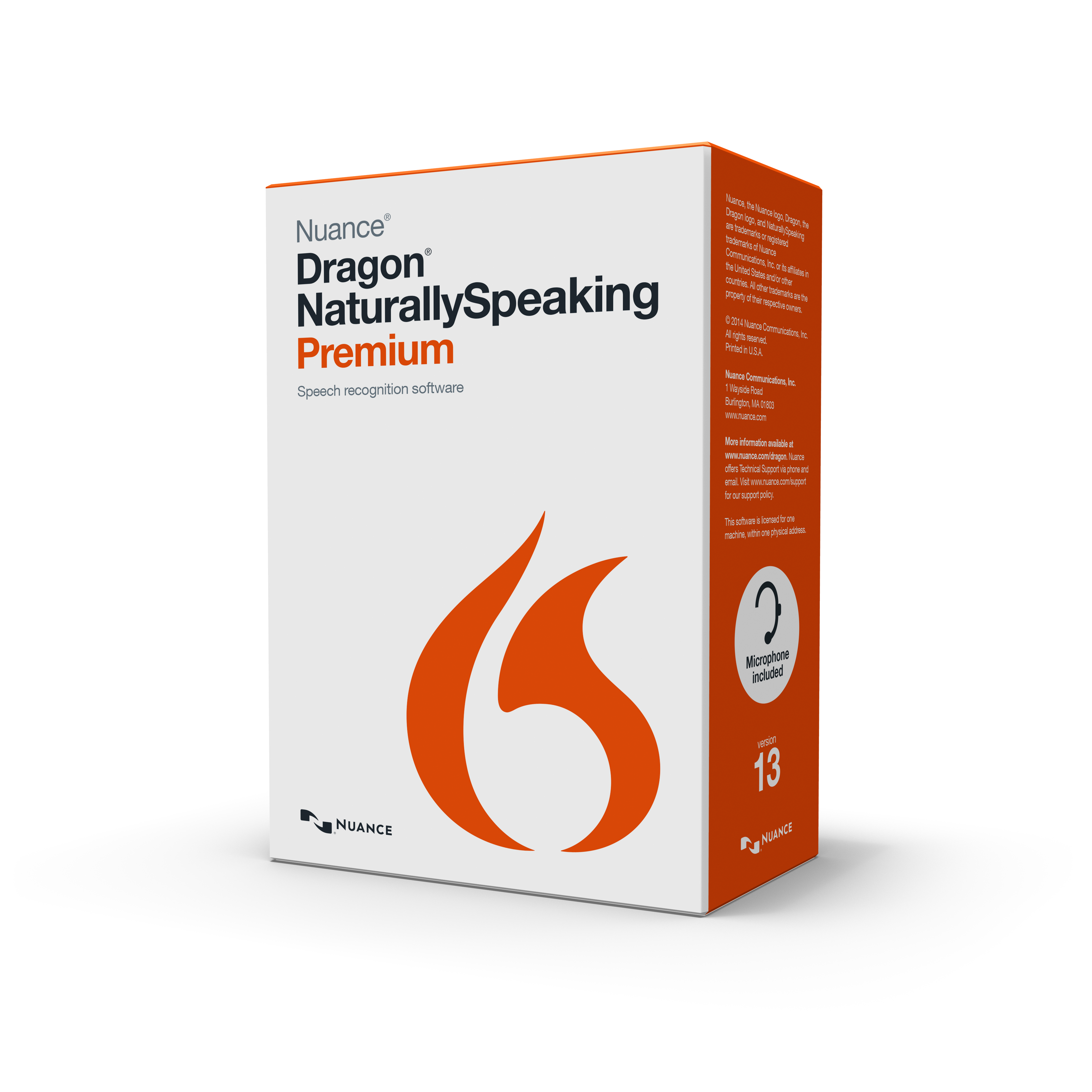 Dragon NaturallySpeaking Premium Version 12