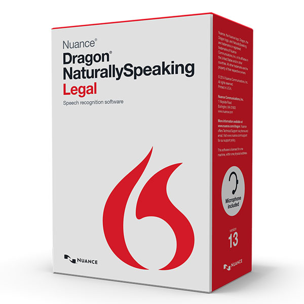 Dragon NaturallySpeaking Legal Version 13